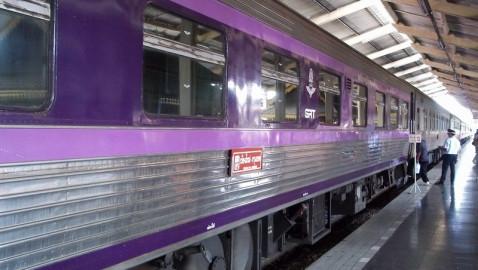 Trains from Chiang Mai to Bangkok