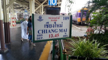 13:45 Train to Chiang Mai