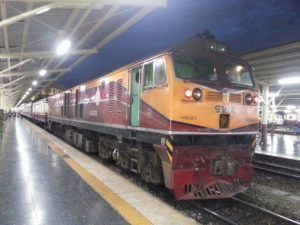 19.35 train to Chiang Mai