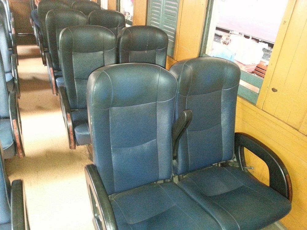 2nd Class Fan Seats on Train #109