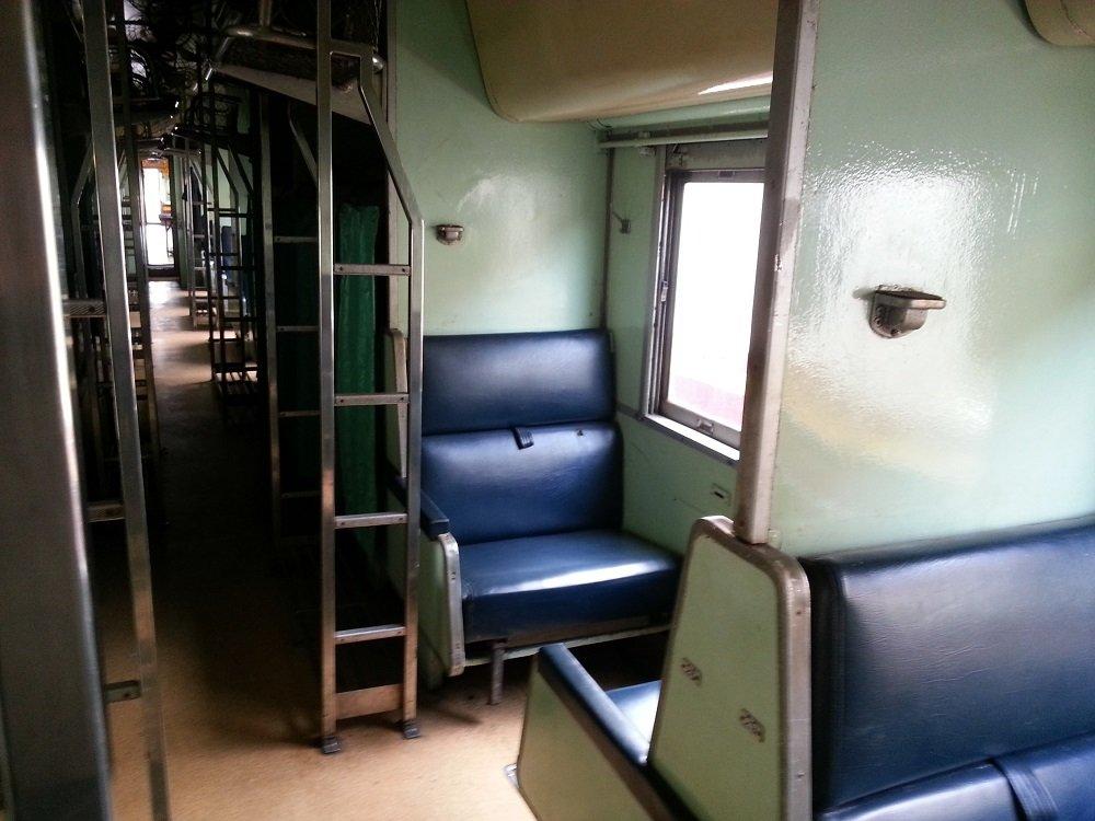 2nd Class Fan Sleeper Seats on the 13.45 to Chiang Mai
