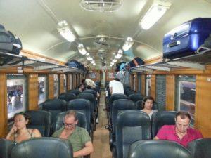 2nd Class Fan seats on Train #51
