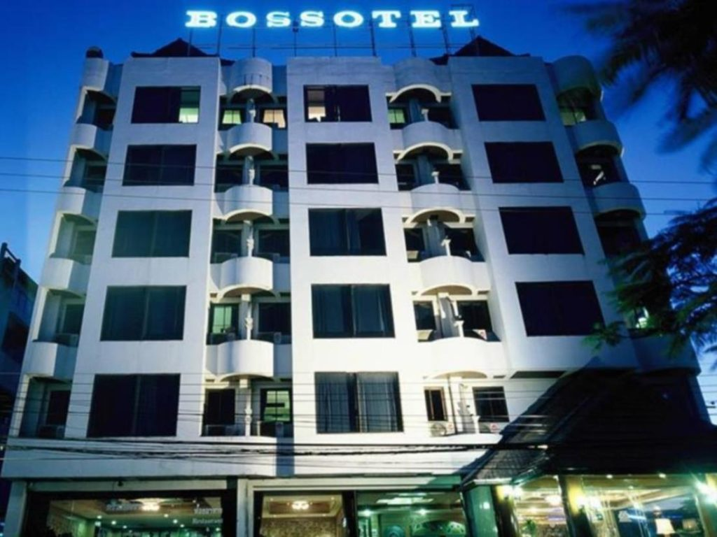 Train Tickets can be collected from the Bossotel
