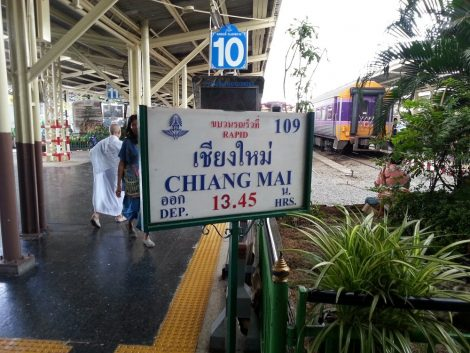 Train 109 to Chiang Mai