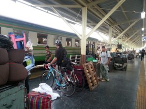 Transporting Bicycles by Train to Chiang Mai